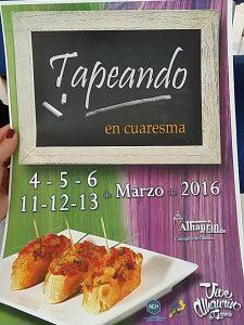 Cartel Tapeando en Cuaresma 2016