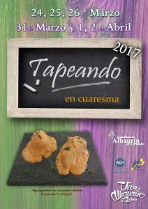Cartel Tapeando en Cuaresma 2017