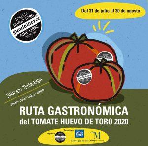 Ruta Tomate Huevo Toro 2020
